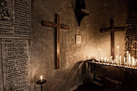 In der Wallfahrtskirche Guegel, nŠhe Schesslitz