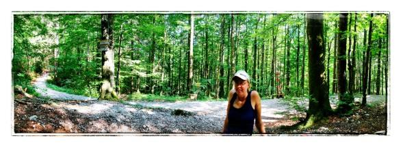 Mit Anni im Wald