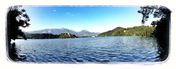 der See bei Bled