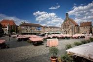 Nuernberg - Markt auf dem Hauptmarkt