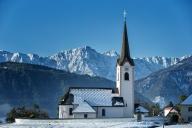 die kleine Kirche in Göltschach