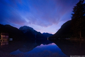 #schmoeesfotowalk - SocaTal - Finale iam Lago de Predil um 10 am Abend